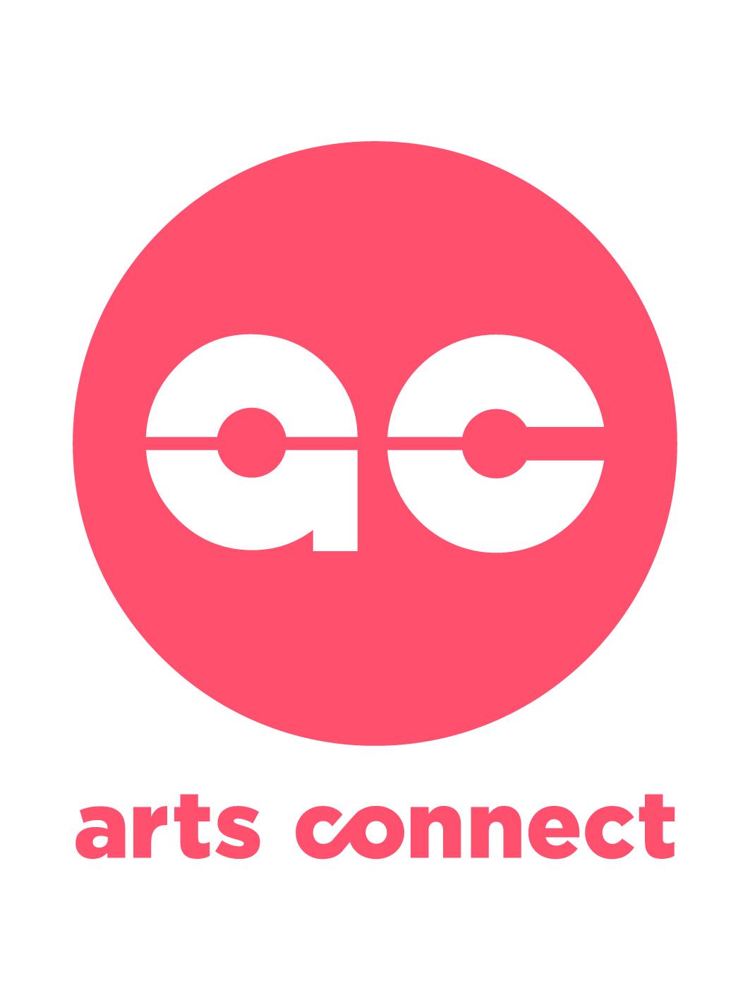 Arts Connect logo_Peach Circle_CMYK